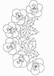 Resultado de imagen para dibujos de flores para pintar