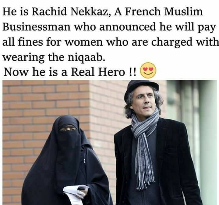 MashaAllah  ❤  This is a man to be respected! #hijab #muslim #niqab
