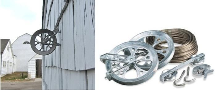clothesline pulley kit