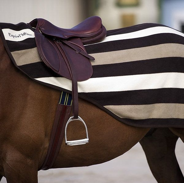 Equi-Theme Stripe Exercise Sheet: £20.99
