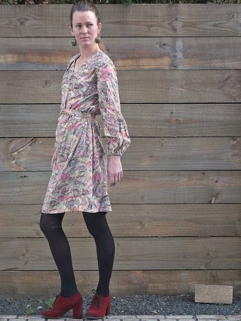 Simplicity 1059, rereleased Jiffy pattern from 1969 Antipodean Stitcher: The Bishop Sleeve Dress