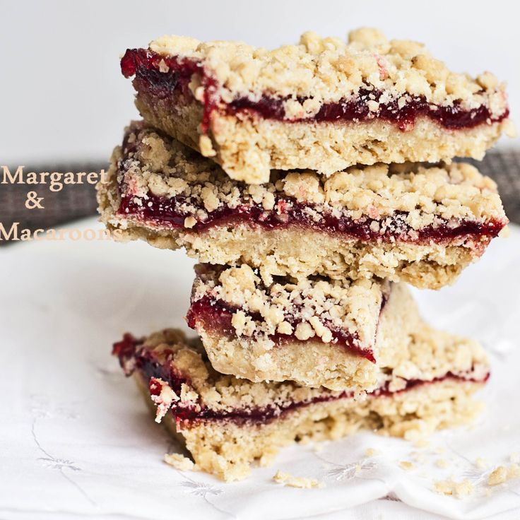 Rasberry Crumb Bars!