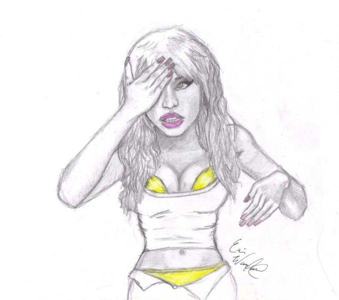 Nicki Minaj Coloring Pages Cool Nicki Minaj Coloring Pages Colorful Pictures Nicki Minaj Coloring Pages