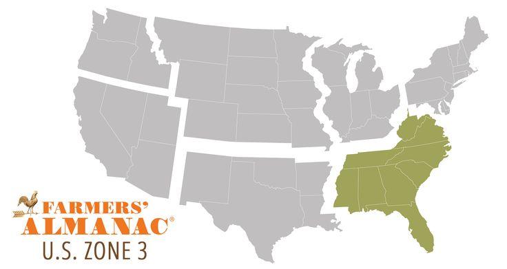 Southeast U.S. Long Range Weather Forecast | Farmers' Almanac