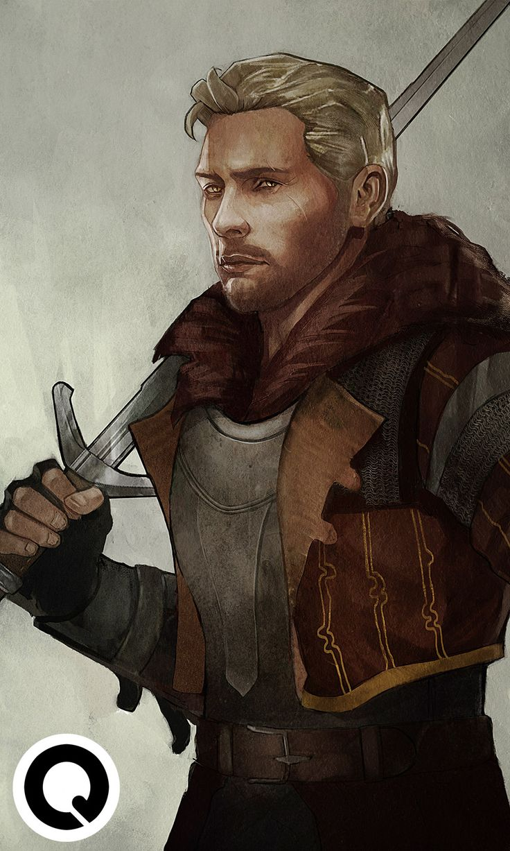 cullenstairshenanigans: ar-lath-ma-vhenan: qissus: Cullen the Witcher crossover commission requested by @eravalefantasy (: Reserve a commission spot by e-mailing me at qkhalidah@gmail.com! mmmm Da-yum. @eravalefantasy, you might get me into The Witcher yet.