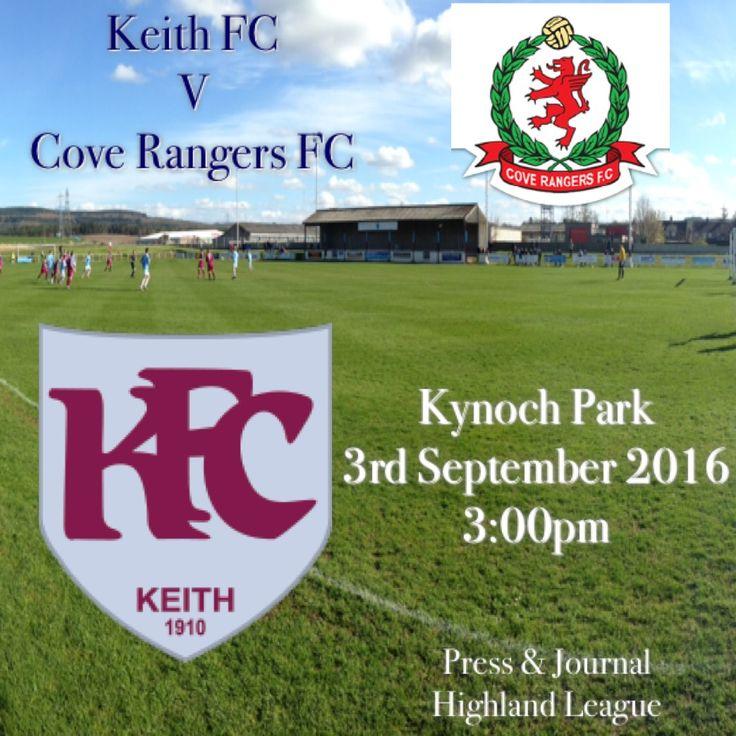 Keith FC v Cove Rangers FC 03/09/16
