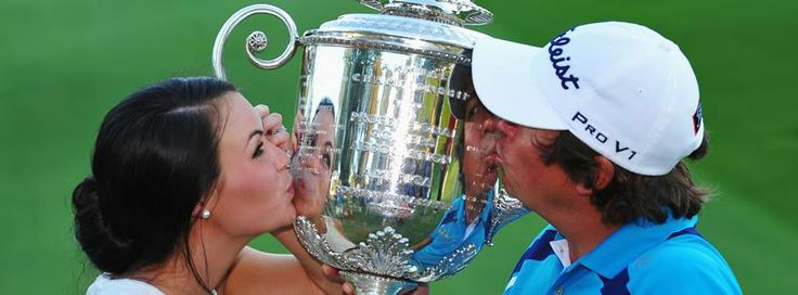Amanda Dufner & Jason Dufner 2013 PGA Championship