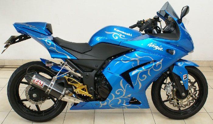 modif motor sport kawasaki ninja