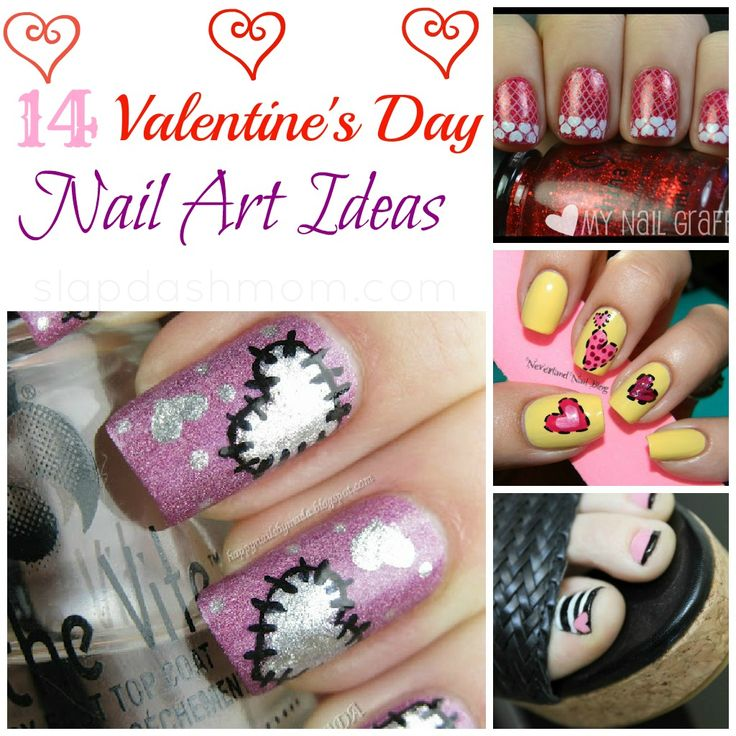 14 Valentines Day Nail Art Ideas