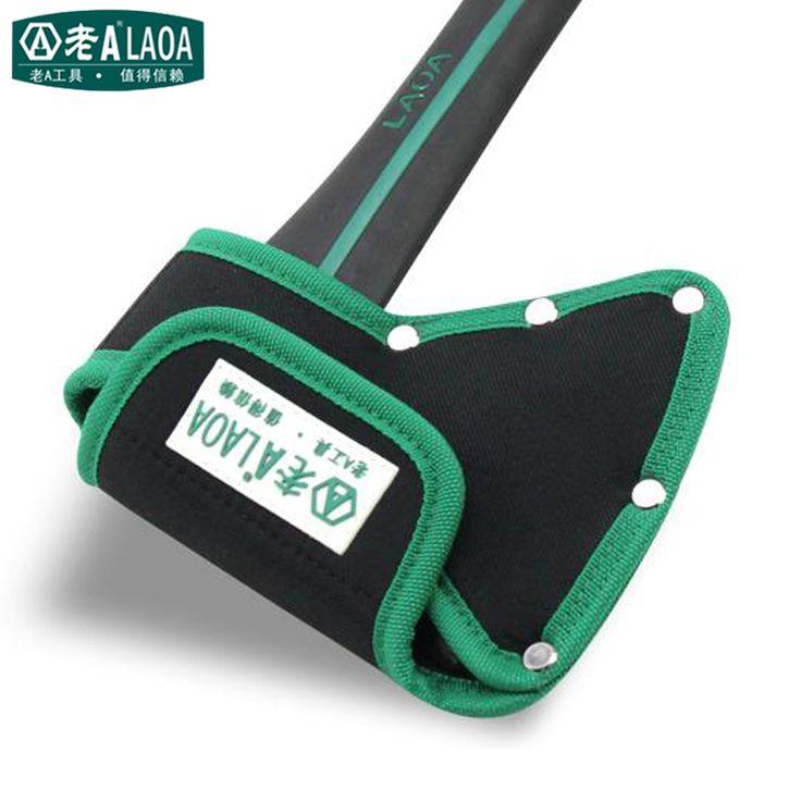 LAOA Hacha de Alta calidad Bolso de La Cintura Del Tamaño 190mm * 150mm * 80mm Carpintería Hacha de Bolsillo Bolsa