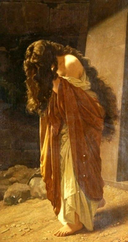 Antonio Ciseri, Maddalena, c.1870.