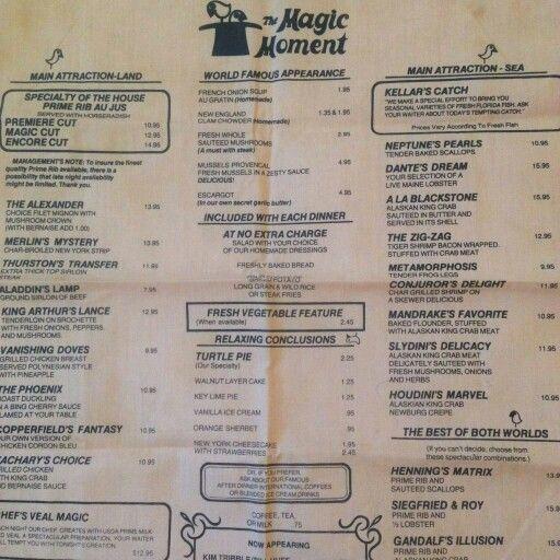 Magic Moment Restaurant