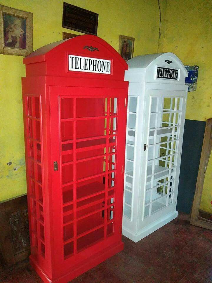 Telephone Box $ 230 USD  We accept wholesale order with the best quality and reasonable price for delivery to worldwide.  We offer our best quality furniture products to you with a fairly competitive price. Price and quality of our products dare to compete with other furniture trading company.  Booking Info: �Telp / Wa: +6285312182585 �Line: sevenfurniture �Address: Jl. Taman Siswa Rt 03/02 Pekalongan Batealit Jepara, Indonesia �E-mail : seven_furniture@yahoo.co.id