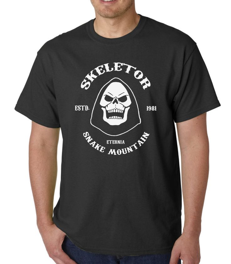 Skeletor (He-Man/Sons of Anarchy) &raquo Silly Boy T-shirts