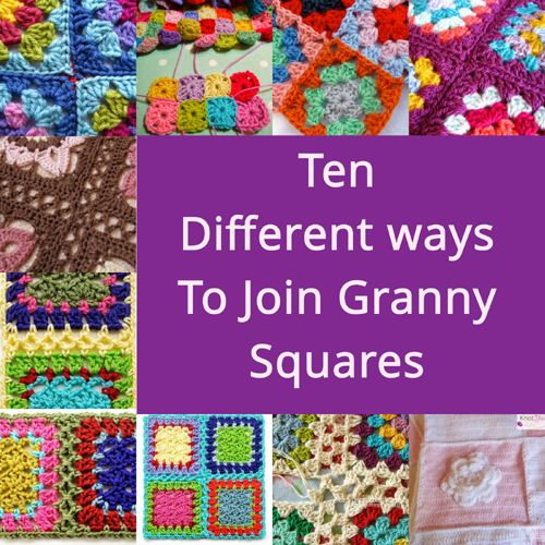 Crochet Stitches To Join Squares : ... Join Granny Squares crochet patterns Pinterest Children, Squares