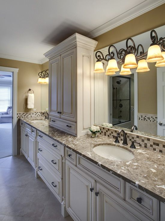 Photographic Gallery Bathroom Distressed Painted Vanity Design Pictures Remodel Decor and Ideas page