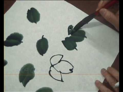 Peony, Rose, Orchid, and Flowers Chinese painting by Cui Qingguo 01 - YouTube