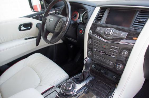 2018 Nissan Patrol Interior