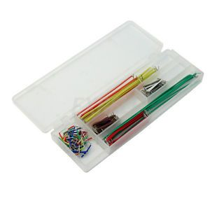DIY-140-Pcs-Jumper-Wire-Cable-Set-For-Solderless-Breadboard-PCB-Test-Board-New