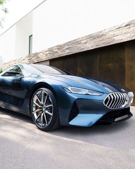 A thoroughbred BMW on the move. The BMW Concept 8 Series. - BMW - Google+