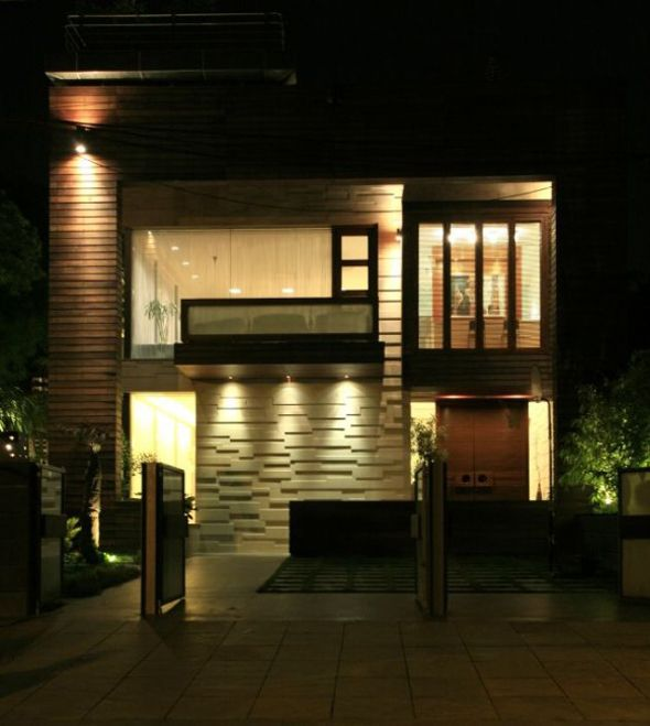 Residence Is A Modern Zen Infused Home That Has Been Designed By Indian  Architectural Studio Morphogenesis, Located In New Delhi, India.