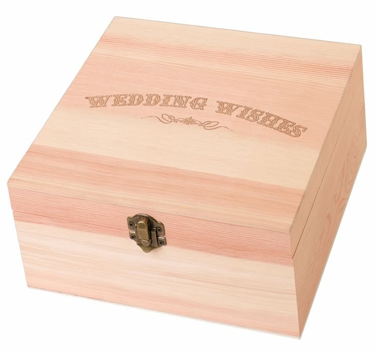 wood wedding card holders%0A This Wedding Wishes Card Box will store your guests u     wedding wishes in  style  Has