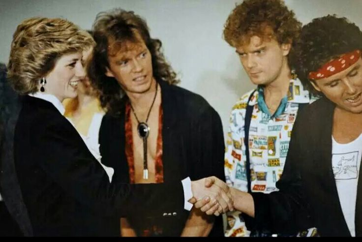 Meeting Loverboy backstage at the Expo theatre, Vancouver May 1986