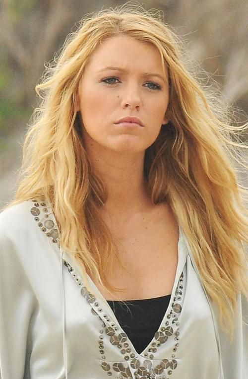 the gallery for gt blake lively rose gold hair