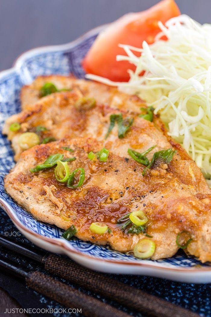 Ginger Pork (Shogayaki) | Easy Japanese Recipes at JustOneCookbook.com /// One of typical, common, ordinary Japanese dish that we both love.