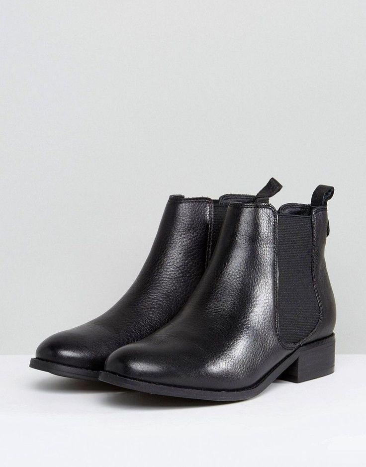 Carvela Leather Chelsea Boots - Black