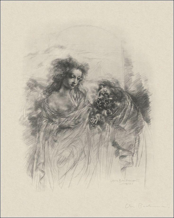Otto Bachmann- Ilustração para Fausto de Goethe