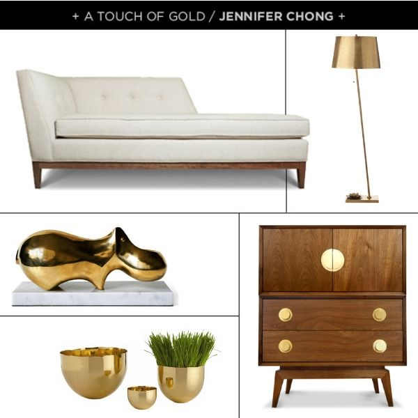 A touch of gold design by  @Jennifer Chong: By Pinterest, Touch, Style, Living Room, Dream Room, Chong Create, Gold Accents, Jennifer Chong