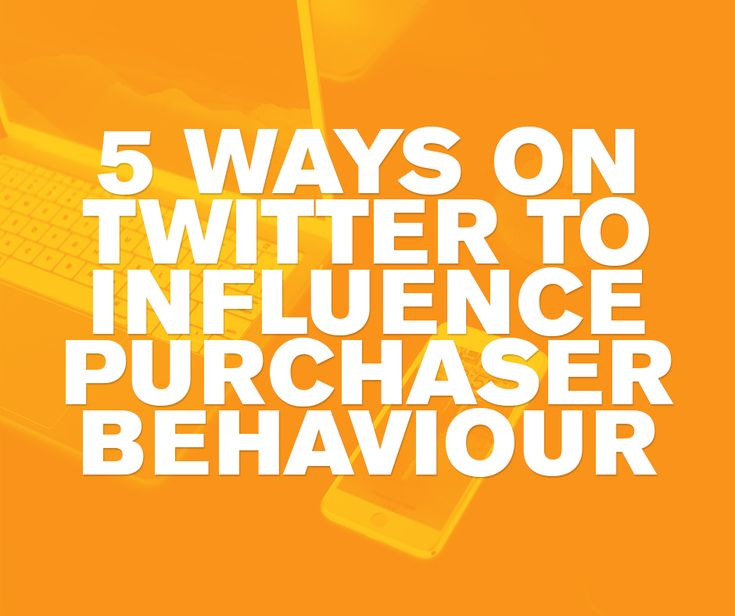 5 Twitter content formats that influence purchaser behaviour. We love Twitter, you love Twitter, but how can you use Twitter to influence purchasing decisions? Find out in our handy guide.