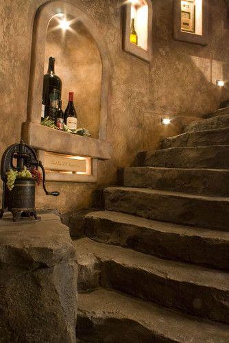 Wine Cellar Stone Wine Cellar Design Marietta Design, Pictures, Remodel, Decor and Ideas - page 21
