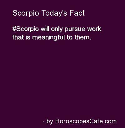 scorpio like pursued