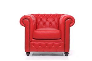 Chesterfield Original Fauteuil Rood