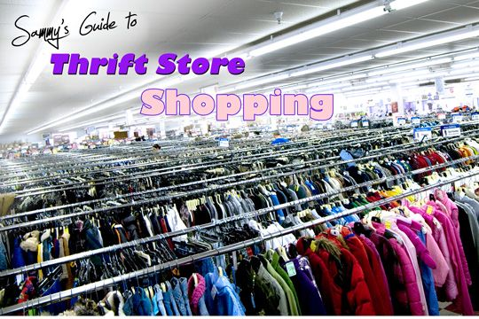 How to Thrift Store Shop