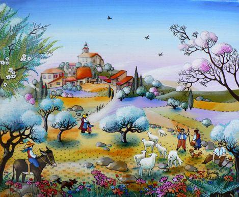 Gut gemocht Plus de 25 idées magnifiques dans la catégorie Peinture naive sur  ZB73