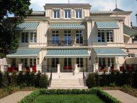 Brenner's Park Hotel and Spa in Baden-Baden  Germany.  Wonderful restaurant and hotel/spa started in the late 1800's and still top notch.