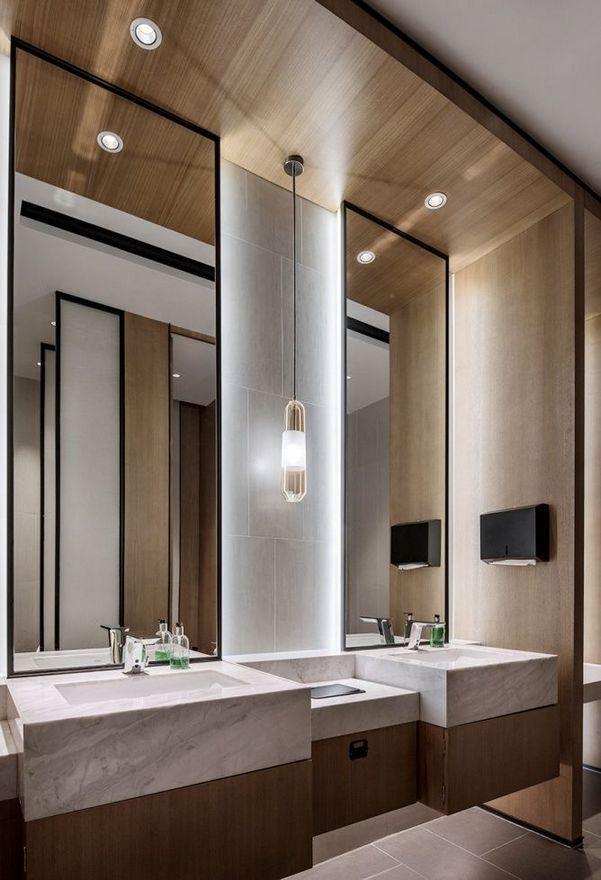 100 Awesome Industrial Kitchen Ideas Unique Bathroom Mirrors Bathroom Interior Design Bathroom Interior