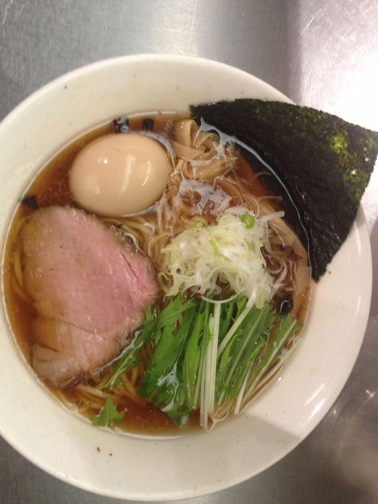 『味玉醤油ラーメン』麺処 ほん田 東京駅一番街店のレビュー | ラーメンデータベース