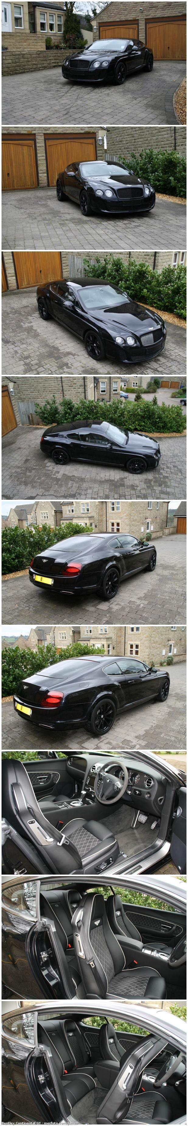 My dream car.... the Bentley Continental GT