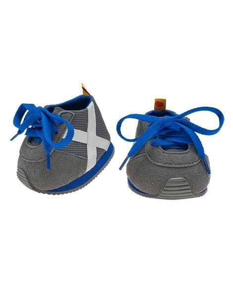 Gray & Blue Athletic Shoes   Build-A-Bear Workshop