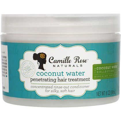Camille Rose Naturals Coconut Water Penetrating Hair Treatment 8 Oz Coconut Water Coconut