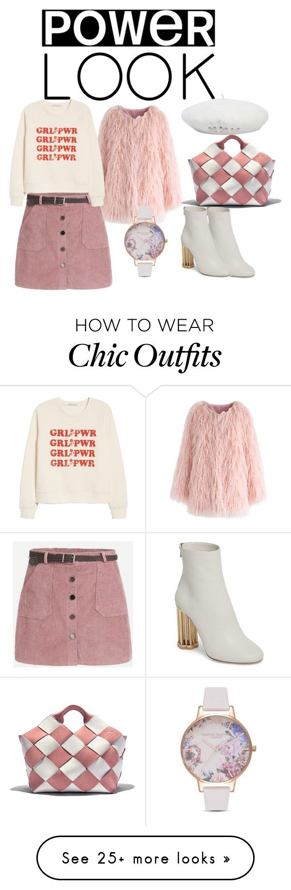 """""""Ready For Adventures"""" by ladyminafashion on Polyvore featuring Chicwish, Loewe, Rebecca Minkoff, Salvatore Ferragamo, Olivia Burton and basketbags"""