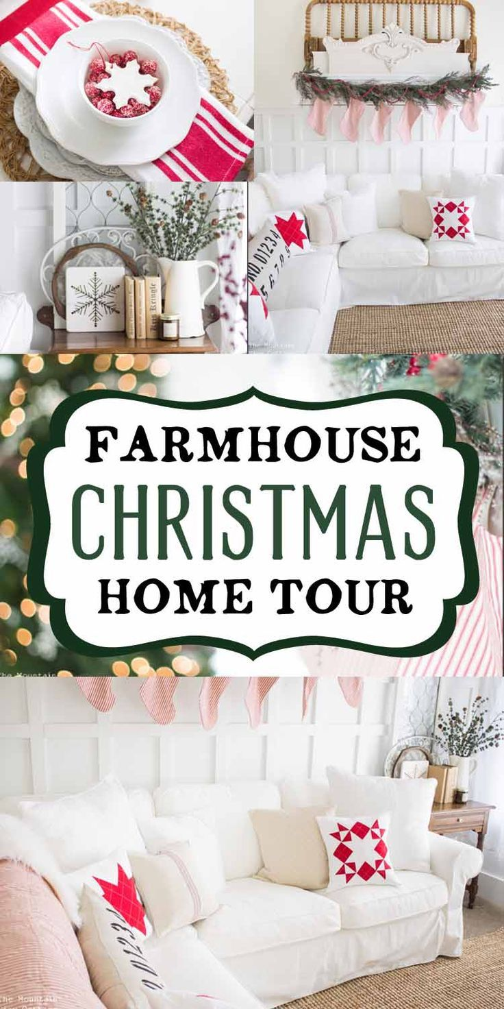 16 Best Images About Christmas Farmhouse Blogs On