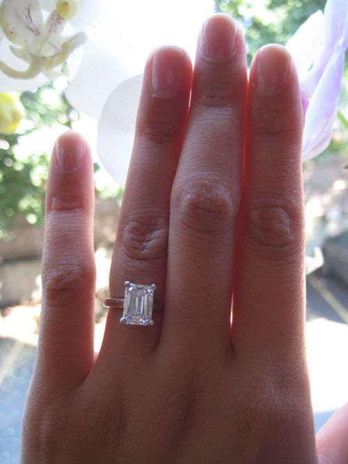 Post PHOTOS ONLY of your engagement/wedding ring{s} here! - Page 8 - PurseForum