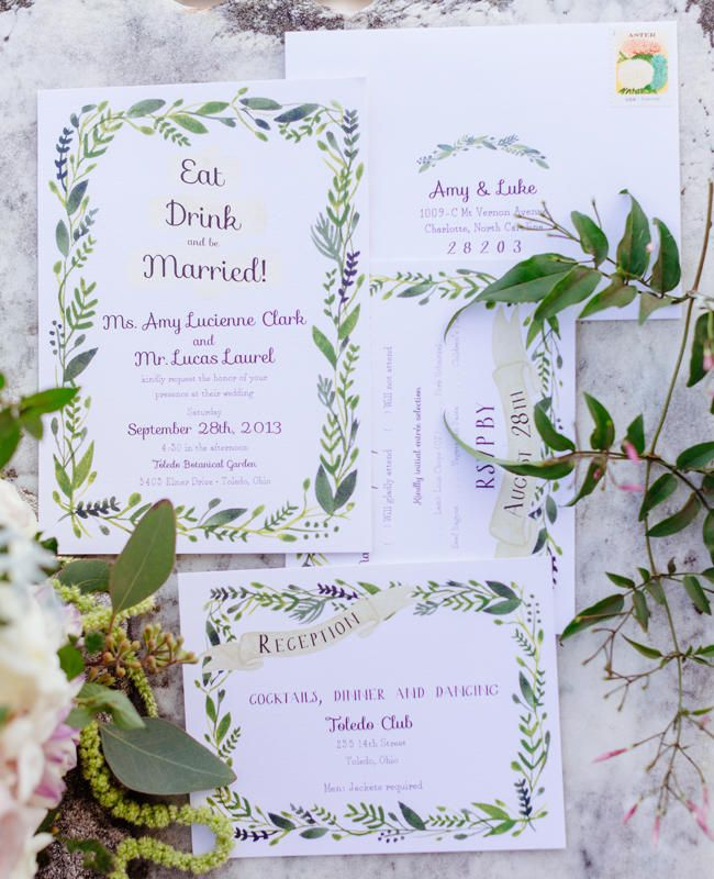 543acb15494b068767335a281cdf460a  floral invitation wedding cards