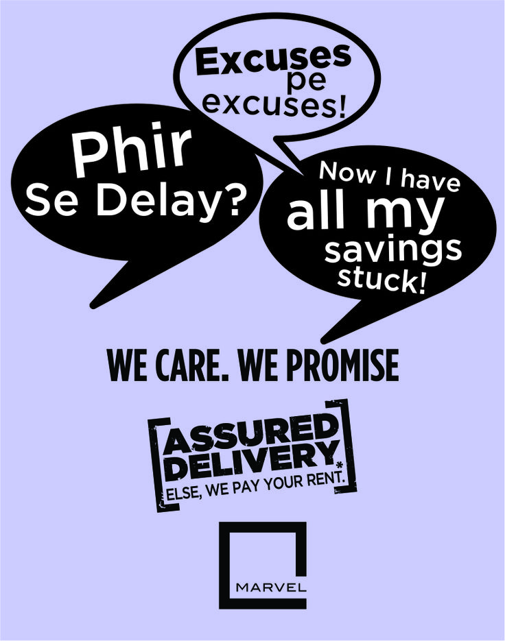 Delay in delivery of a housing project is a common occurrence, things are about to change with our new initiative ‪#‎AssuredDelivery‬. We guarantee to deliver your dream home on time. If not, we will pay your rent. For more: http://bit.ly/AssuredDelivery