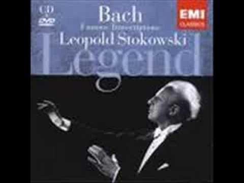 Leopold Stokowski's Bach Transcriptions (playlist)